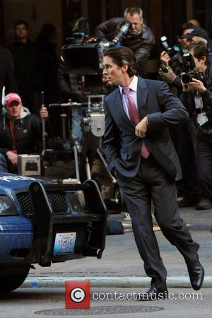 Christian Bale  on the set of the latest Batman film, 'The Dark Knight Rises' New York City, USA -...