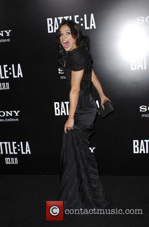 Michelle Rodriguez  Battle: Los Angeles Los Angeles Premiere held At Regency Village Theatre Westwood, California - 08.03.11