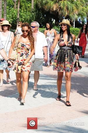 VH1 Basketball Wives cast members Evelyn Lozada and Jennifer Williams  AMG Beach Polo World Cup - Day 3 Miami...