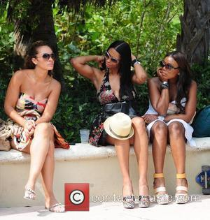 VH1 Basketball Wives cast members Evelyn Lozada, Jennifer Williams and new cast member  AMG Beach Polo World Cup -...