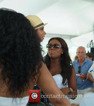 VH1 Basketball Wives cast members Jennifer Williams and Juli Richmond  AMG Beach Polo World Cup - Day 3 Miami...