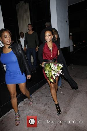 Christina Milian at Beso restaurant Los Angeles, California - 26.09.11