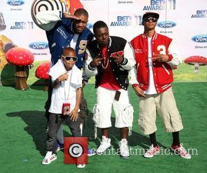 Cali Swag District The 11th Annual BET Awards held at the Shrine Auditorium - Arrivals Los Angeles, California - 26.06.11