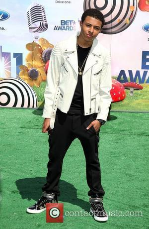 Diggy Simmons BET Awards '11 held at the Shrine Auditorium Los Angeles, California - 26.06.11