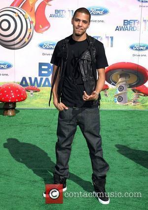 J. Cole BET Awards '11 held at the Shrine Auditorium Los Angeles, California - 26.06.11