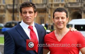 Alex Reid and Lee Latchford Evans Better Breakfast Campaign Photocall held at Cromwell Green London, England - 07.09.11