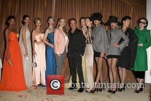 Elizabeth Berkley, Lloyd Klein with House of Couture Models Lloyd Klein Closes LA Fashion week Fall/Winter 2012 In support of...