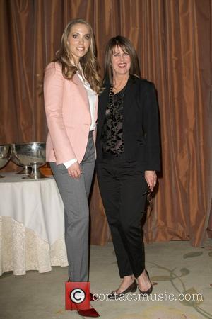 Elizabeth Berkley, Pam Dawber  Lloyd Klein Closes LA Fashion week Fall/Winter 2012 In support of the Guild of Big...