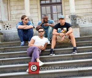 Lee Ryan, Antony Costa, Duncan James and Simon Webbe