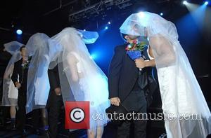 Lee Ryan, Duncan James, Simon Webbe and Antony Costa Blue perform live at G-A-Y London, England - 30.04.11