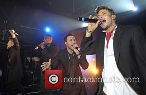 Lee Ryan, Simon Webbe and Antony Costa and Duncan James Blue perform live at G-A-Y London, England - 30.04.11