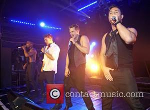 Simon Webbe, Duncan James, Lee Ryan and Antony Costa Blue perform live at G-A-Y London, England - 30.04.11