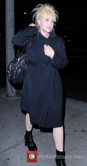 Cyndi Lauper visits BOA Steakhouse in West Hollywood Los Angeles, California - 15.02.11
