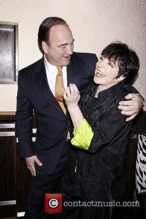 James Belushi and Liza Minnelli  Opening night after party for the Broadway production of 'Born Yesterday' held at the...