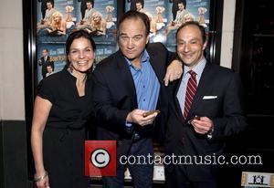 Michele Sherman, Jim Belushi and Bill Sherman (VP of Nat Sherman)  The Creative Coalition & Friends celebrate Broadway show...