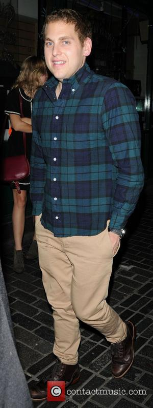 Jonah Hill leaving Box Club in Soho London, England - 13.08.11