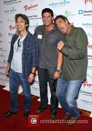 Ray Romano, Brad Garrett and Jose Canseco