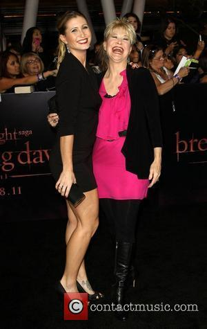 Gabrielle Stone and Dee Wallace Stone The Twilight Saga: Breaking Dawn - Part 1 World Premiere held at Nokia Theatre...