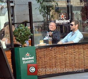 Stephen McCormack, Brian McFadden outside Harry's Bar Dublin, Ireland - 24.08.11
