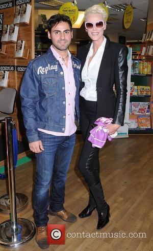 Brigitte Nielsen and Mattia Dessi Brigitte Nielsen signs copies of her book 'You Only Get One Life' at Easons Dublin,...