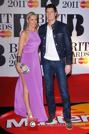 Tess Daily and Vernon Kay  The BRIT Awards 2011 at the O2 Arena - Arrivals London, England - 15.02.11