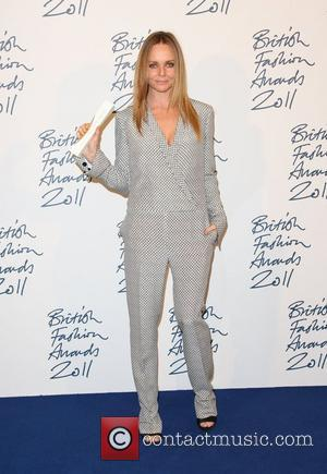Stella McCartney, winner of Red carpet award The British Fashion Awards 2011 held at the Savoy - Press room London,...