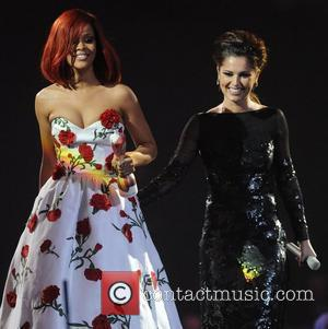 Rihanna and Cheryl Tweedy