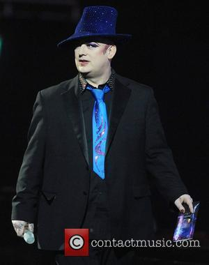 Boy George,  The BRIT Awards 2011 at the O2 Arena - Inside London, England - 15.02.11