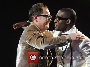 Alan Carr and Tinie Tempah ,  The BRIT Awards 2011 at the O2 Arena - Inside London, England -...