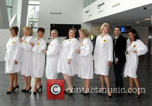 The Calendar Girls stage show with Ruth Madoc, Gwen Taylor, Diana Moran, Danielle Lineker, Lisa Riley, Bernie Nolan, Jennifer Ellison,...