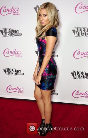 Ashley Tisdale  Candie's host The 2011 MTV VMA After Party at The Colony - Arrivals  Los Angeles, California...