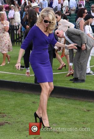 Christie Brinkley Cartier International Polo Day held at Guards Polo Club Windsor, England - 24.07.11