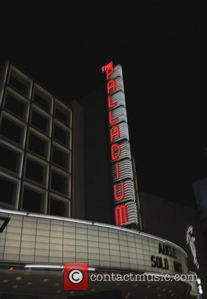 Hollywood Paladium Adele concert Hollywood, California - 18.08.11