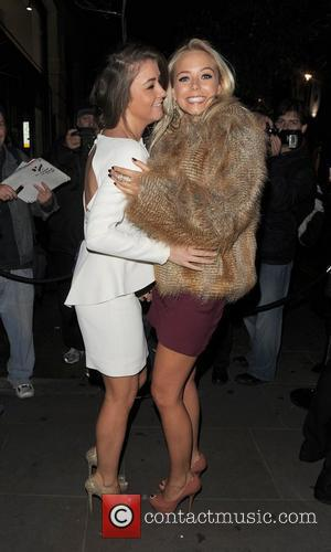 Brooke Vincent and Sacha Parkinson. Macmillan Centenary Gala Afterparty, held at Aqua. London, England - 29.11.11