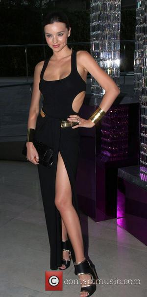Miranda Kerr The 2011 CFDA Fashion Awards at Alice Tully Hall in The Lincoln Center - Inside Cocktails New York...