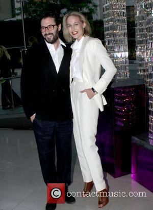Adam Kimmel and Leelee Sobieski The 2011 CFDA Fashion Awards at Alice Tully Hall in The Lincoln Center - Inside...