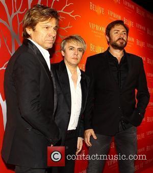 Roger Taylor, Duran Duran, Nick Rhodes and Simon Le Bon