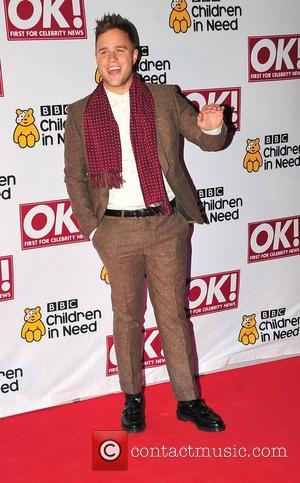 Olly Murs,  at the BBC Children in Need dinner - Arrivals. Manchester, England - 16.11.11