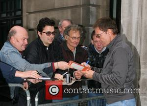 Cliff Richard Celebrities at the Radio 2 studios in support of Children In Need  London, England - 18.11.11