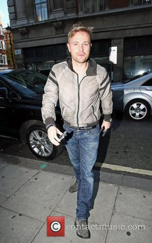 Nicky Byrne Celebrities at the Radio 2 studios in support of Children In Need London, England - 18.11.11