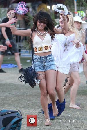 Vanessa Hudgens Used 'White Substance' At Coachella