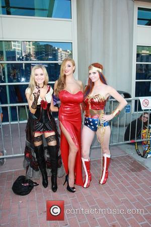 Phoebe Price, Paula Labaredas and Wonder Woman