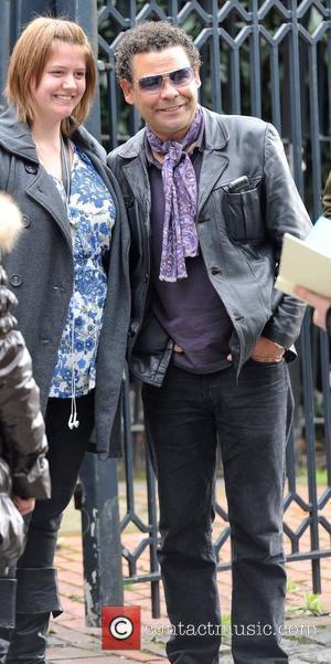 Coronation street star Craig Charles at Granada studio's Manchester, England - 06.04.11