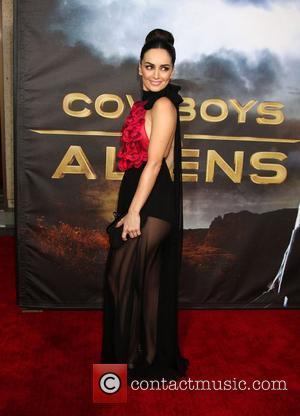 De La Reguera Smitten With Craig On Cowboys Set