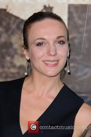 Amanda Abbington Crime Thriller Awards at the Grosvenor Hotel London, England - 07.10.11