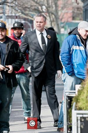 Vincent D'onofrio on The Set of Law & Order: Criminal Intent in Greenwich Village New York City, USA - 24.03.11