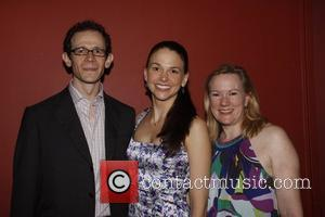 Adam Godley and Sutton Foster