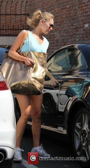Kym Johnson 'Dancing with the Stars' celebrities outside the dance rehearsal studios. Los Angeles, California - 28.09.11