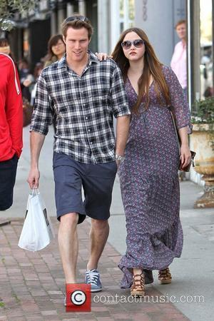 Heavily pregnant Devon Aoki and her fiance James Bailey leaving Joans on Third in West Hollywood. Los Angeles, California -...