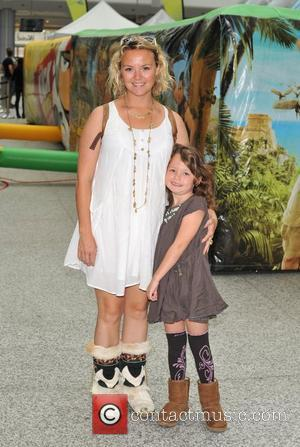 Charlie Brooks with daughter Kiki Disney XD Challenge - launch and photocall held at the Westfield Shopping Centre. London, England...